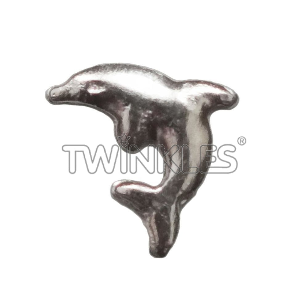 Dolphin Whitegold Tooth Gem