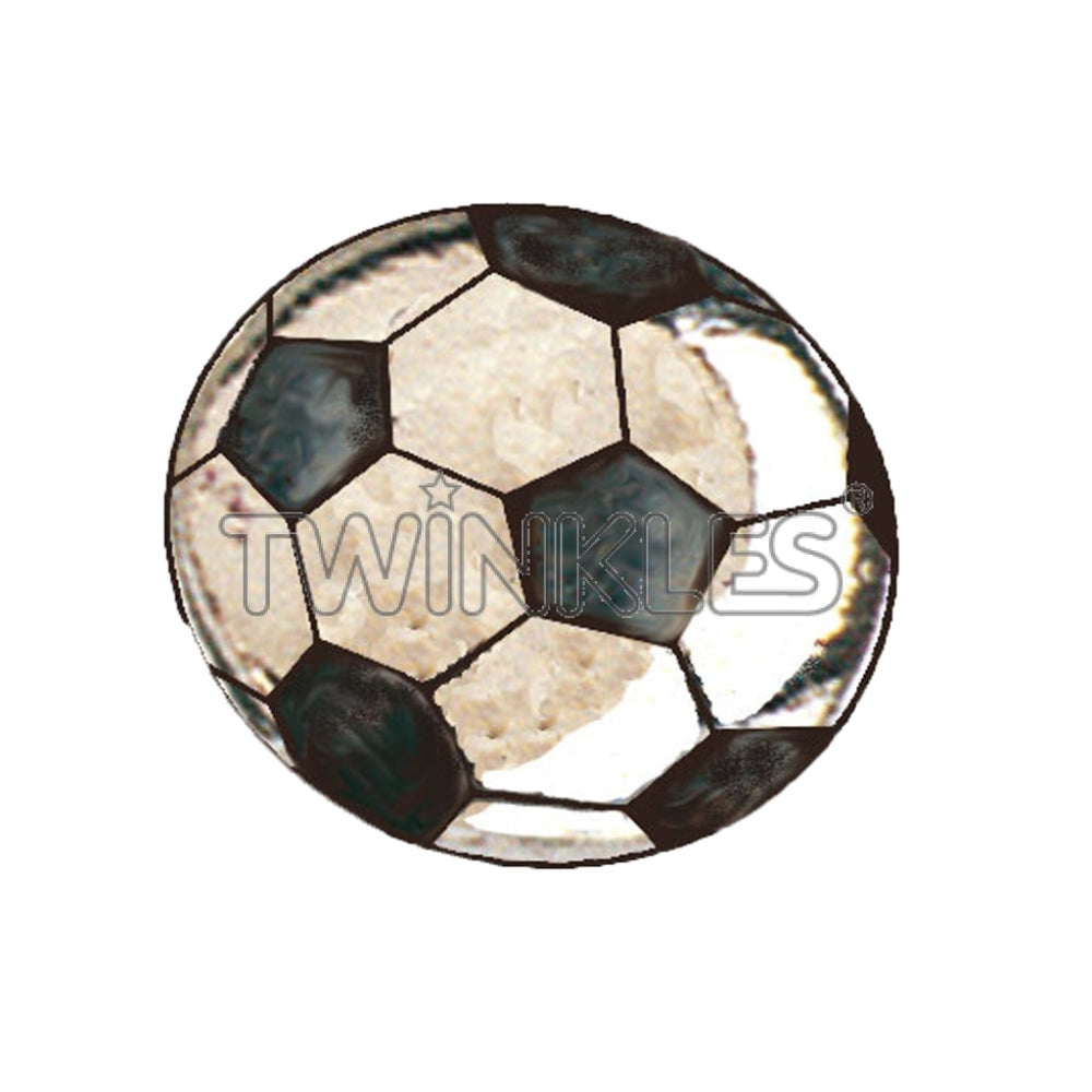 Soccerball Whitegold Tooth Gem