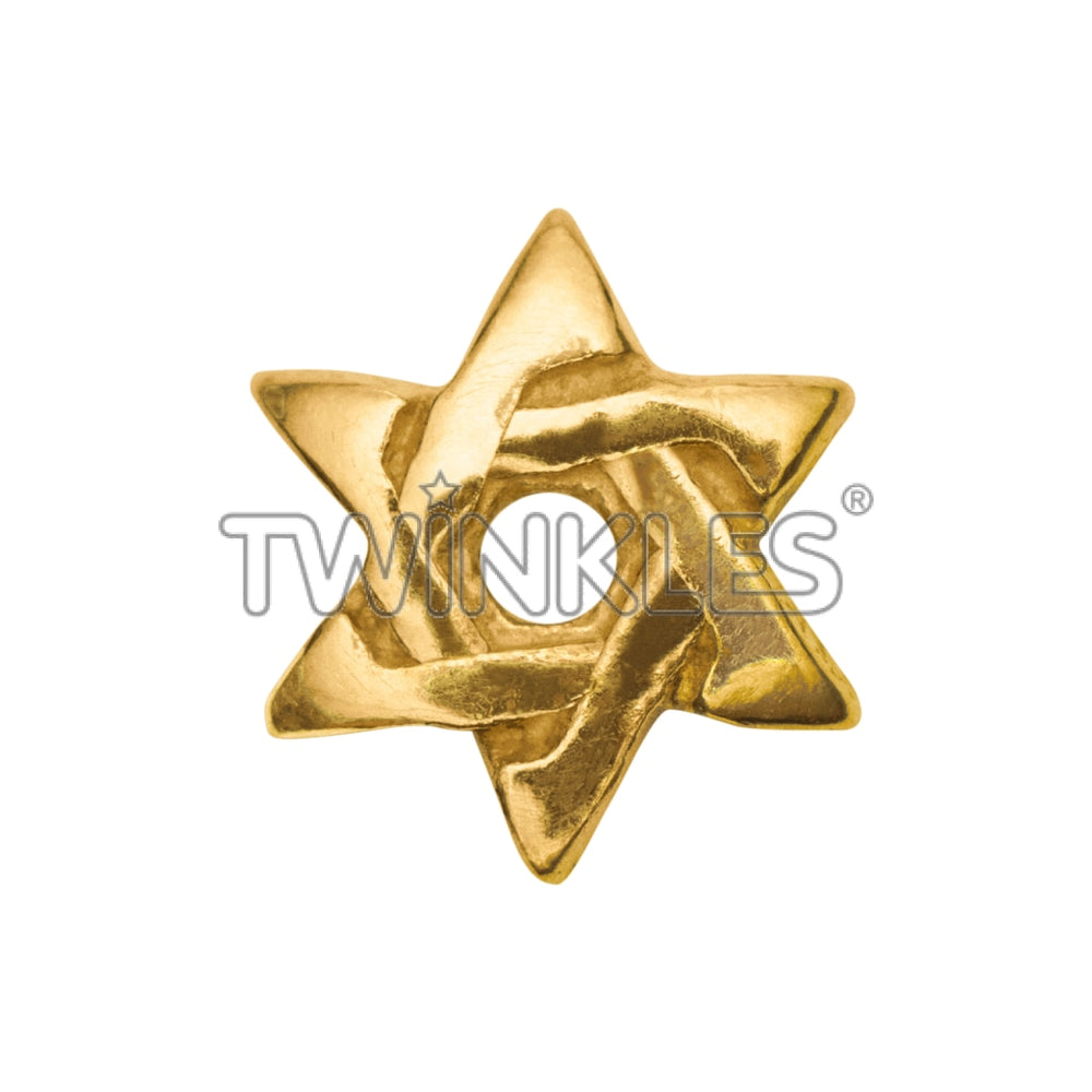 Star Of David Tooth Gem