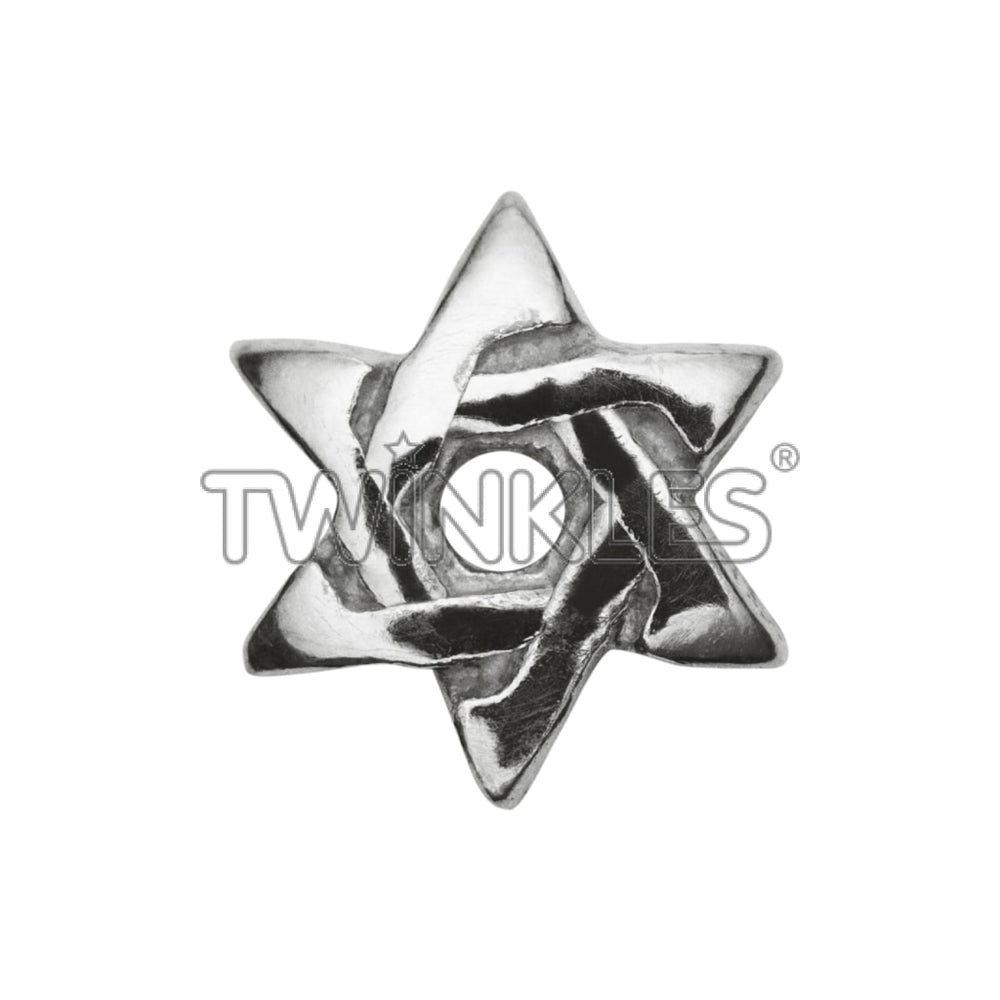 Star Of David Whitegold Tooth Gem
