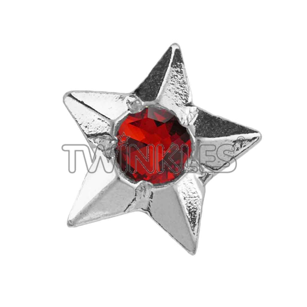 Star w. Ruby Whitegold