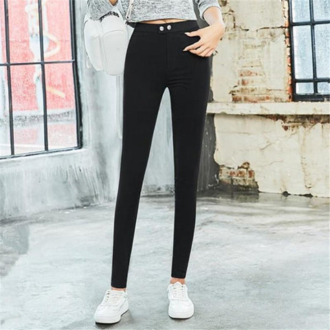Fashion Slim Show Thin Cotton Ninth Pants Pencil Tight Pants