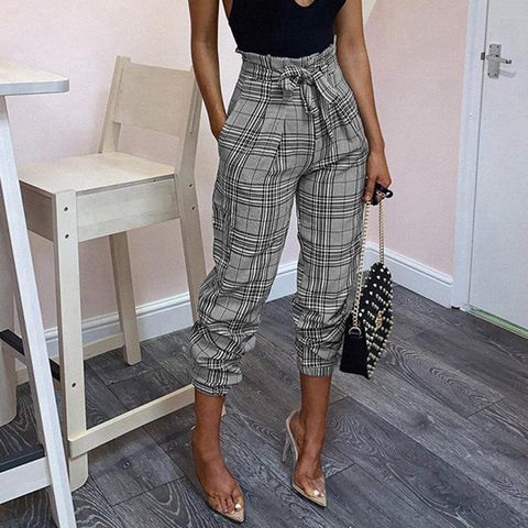 Fashion Casual Plain Pants