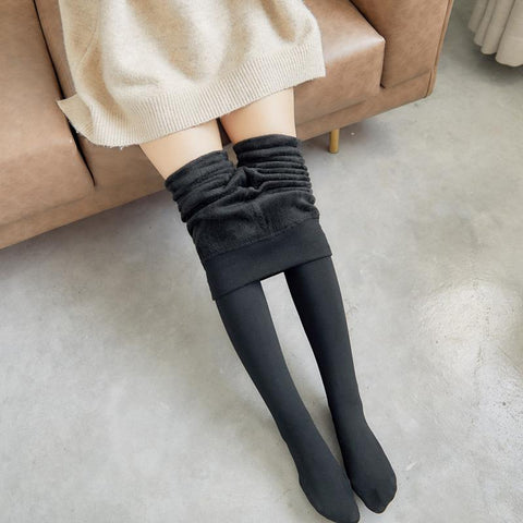 Fashion Slimming Warm Cotton Stretch Tight Pants Pantyhose