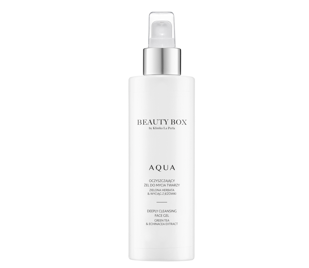 Aqua Cleansing gel for face washing