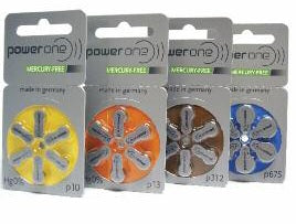 Power One Mercury Free Batteries