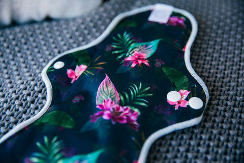Organic Cotton Reusable Cloth Pads