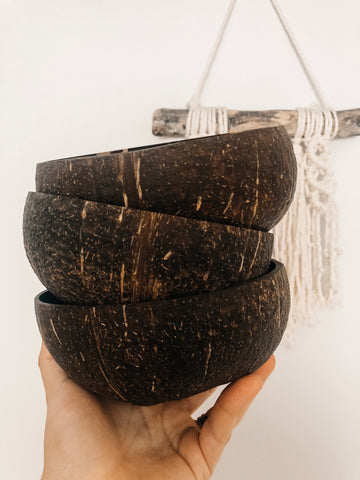 Natural Coconut Bowl (Single)
