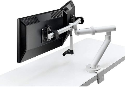 Flo plus dual monitor arm by colebrook bosson saunders