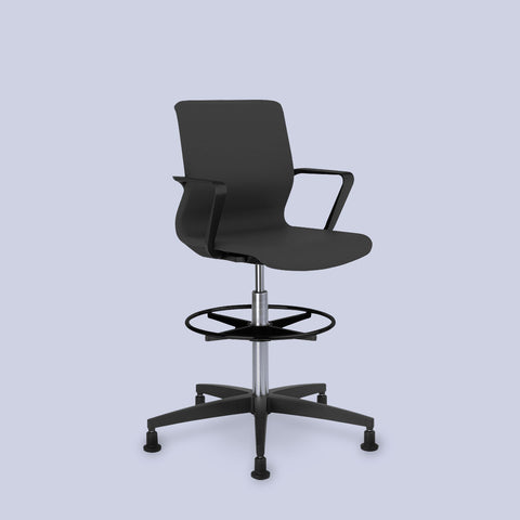 Drumback Black Edition Counter Chair