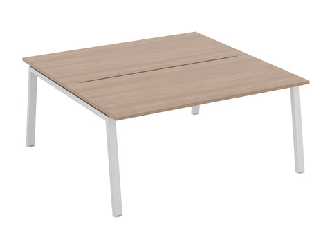 Linnea two person bench desk