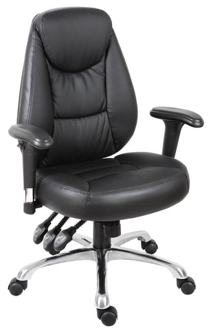 Portland padded leather office chair