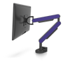 ZG1 Black Edition Monitor Arm With Violet Side Panels