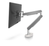 ZG1 Polished Aluminium Monitor Arm With Silver Side Panels | NIODONLINE