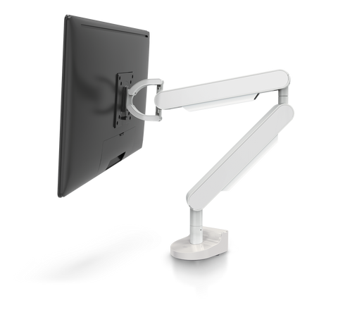 ZG1 White Edition Monitor Arm | NIOD