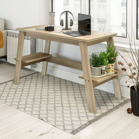 Teknik - Baylor Trestle Home Office Desk - New Image Office Design Ltd