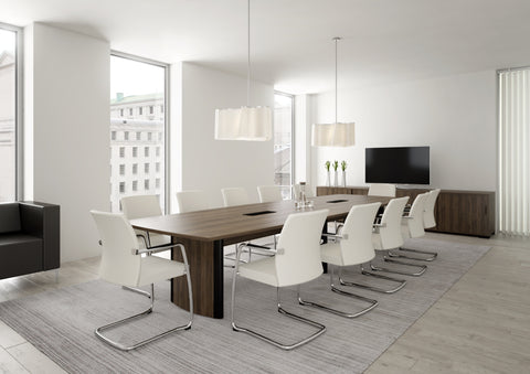 Aerofoil Boardroom Table From Elite Office Furniture