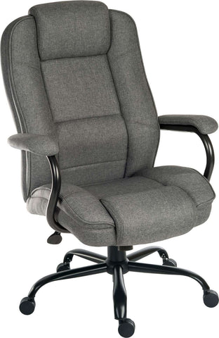 Goliath Heavy Duty Grey Fabric Office Chair