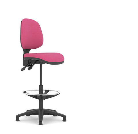 Topaz Lite cashier and draughtsman chair by pledge