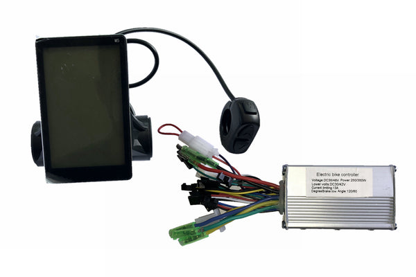 LCD display for ebike