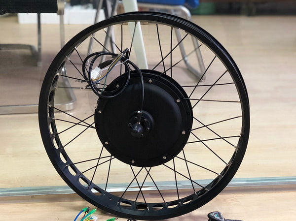 motor laced wheel 3000w