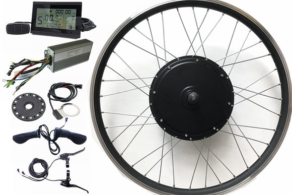 Electric bike conversion kit 48v1500w hub motor kit