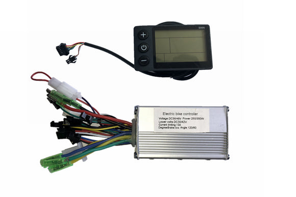350w electric bike kit controller with display ebike kit