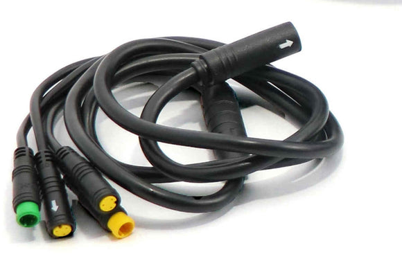 bafang 1T4 cable for bbs01 bbs02 and bbsHD