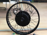 3000 W hub motor electric bike motor laced wheel fat tire bike motor