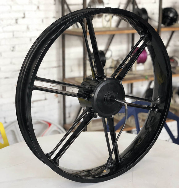 26' x 3.5' fat tire magnesium wheel motor 500 W and 750 W rim motor