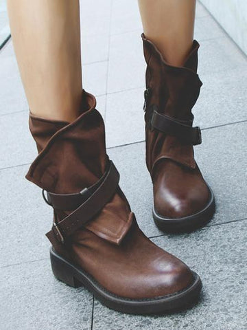 Pretty Thin Heels Knee High Boots