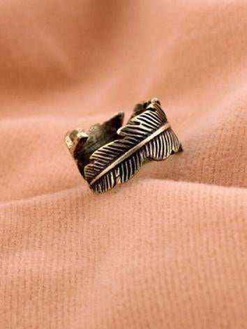 Vintage Feather Rings Accessories