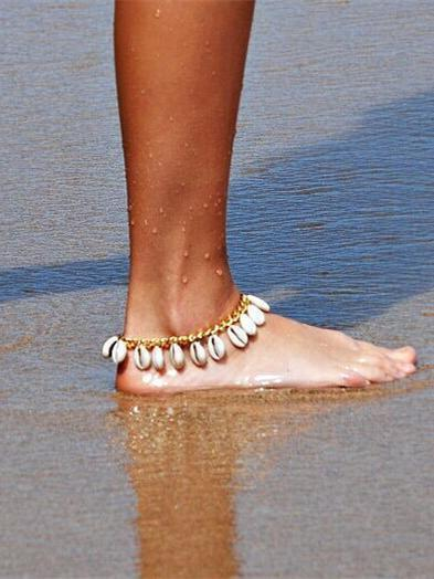 Bohemia Shell Footchain Accessories