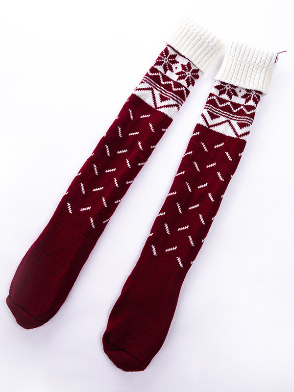 Bohemia 2 Colors Tassels Stocking