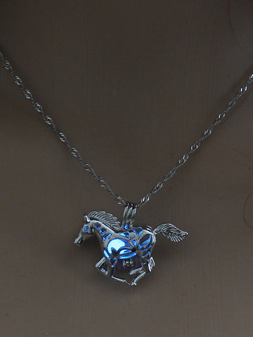 Vintage Cross Dragon Luminous Pendant Accessories
