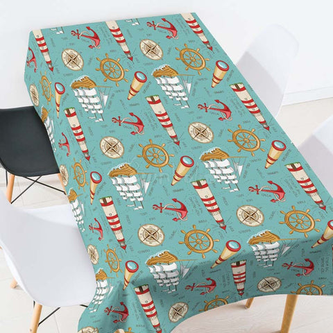 Lemon Pattern Casual Printed Tablecloth