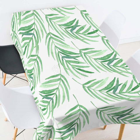 Christmas Tree Pattern Casual Printed Tablecloth