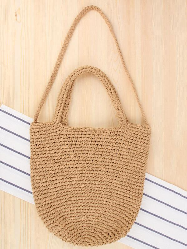 Bohemia Straw Crossbody Bag