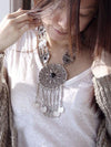 Vintage Bohemia Coin Tassels Collar Necklaces Accessories
