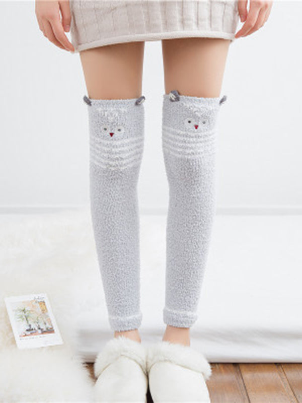 Cute Over Knee-high Long Leg Warmers