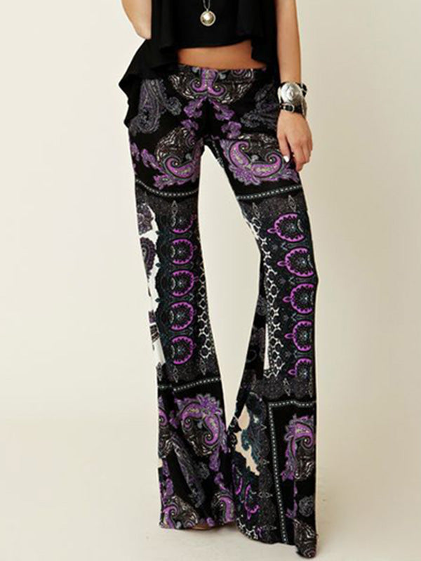 Fashion Wrap Bell-bottoms Casual Pants