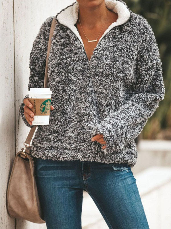 Fashion Long Sleeves Tops