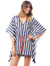 Waisted Loose Tassels Cover-up Swimwear