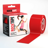 Rocktape (Red) 5cmx5m Kinesiology/Sports Tape