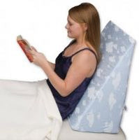 "Bed Wedge 7"" Height, 16.26 degree incline, for sleeping for Acid Reflux, Back pain, Reading with Comfort"