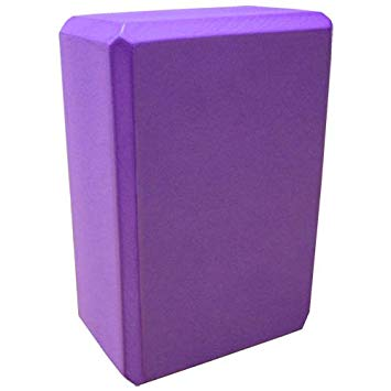 "Yoga Block (Purple) 9""x6""x4"""