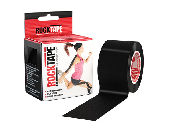 Rocktape (Black) 5cmx5m Kinesiology/Sports Tape