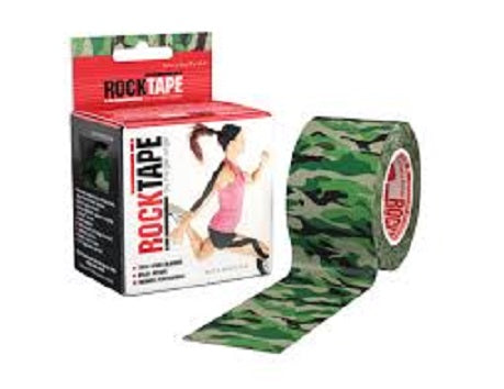 Rocktape (Green Camouflage) 5cmx5m Kinesiology/Sports Tape