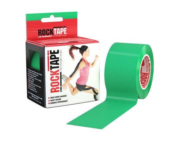Rocktape (Green) 5cmx5m Kinesiology/Sports Tape