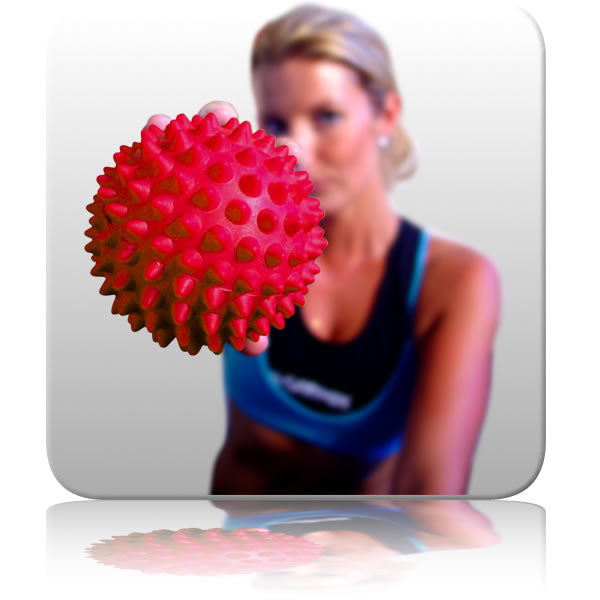Spikey Massage Ball Trigger Ball (Red)